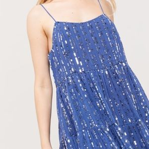 UO Babydoll Sequin Dress